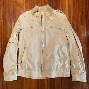 HUGO BOSS MEN MILITARY BOMBER JACKET